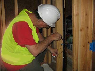 proper plumber soldering