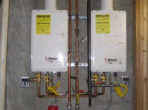 Tankless Water Heaters Installed